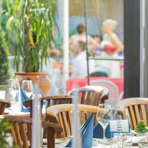 Feste feiern in der WaTT's Brasserie | Restaurant | Bar | Biergarten in Ettlingen