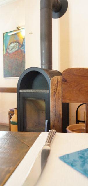 Das Kaminzimmer in der WaTT's Brasserie | Restaurant | Bar | Biergarten in Ettlingen
