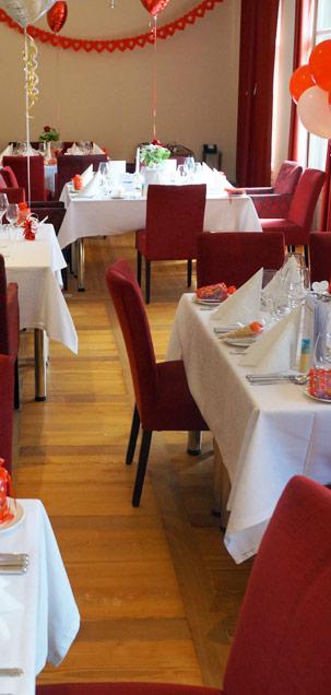 Private Dining in der WaTT's Brasserie | Restaurant | Bar | Biergarten in Ettlingen