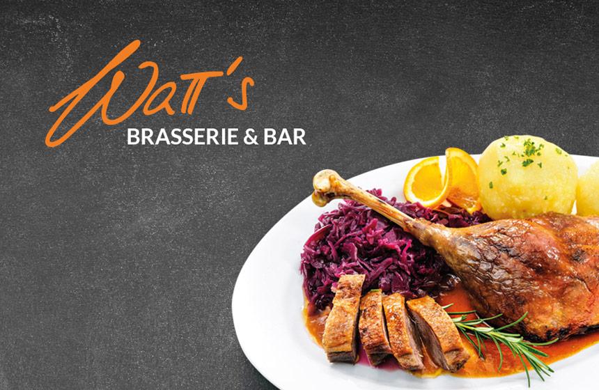 Gänsespecial – die ganze Gans in der WaTT's Brasserie und Restaurant
