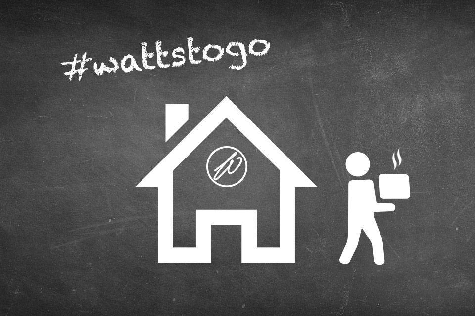 Die komplette WaTT's Speisekarte als to go plus 10% Rabatt für Selbstabholer